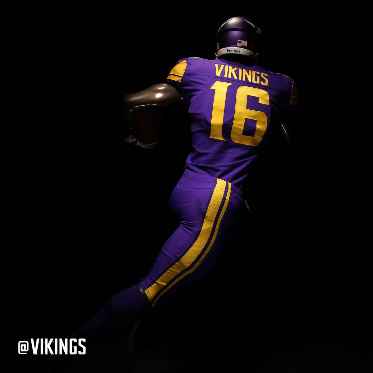 outlet store 56aff ab128 mn vikings color rush jerseys