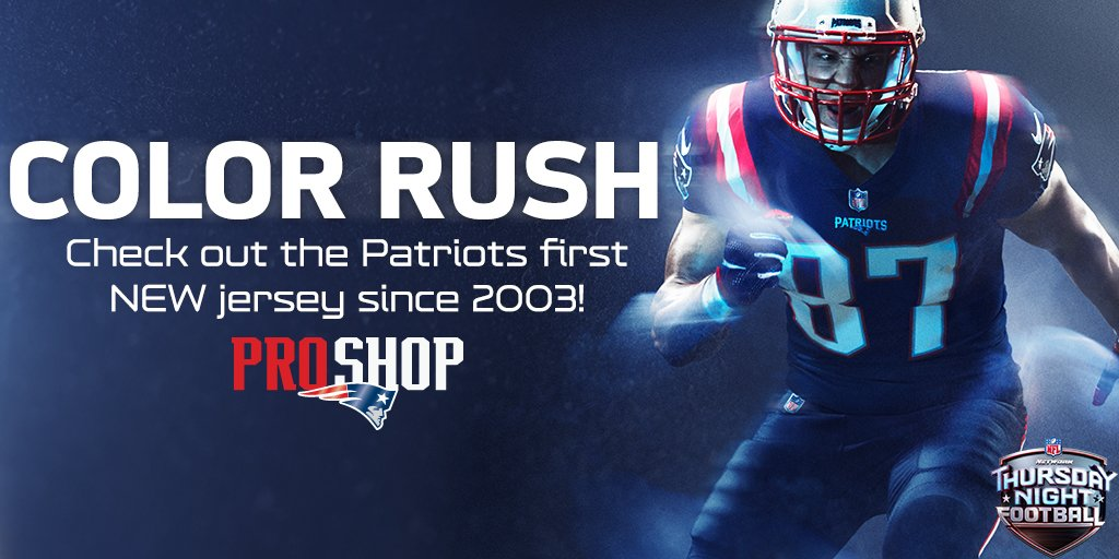 color rush jerseys patriots