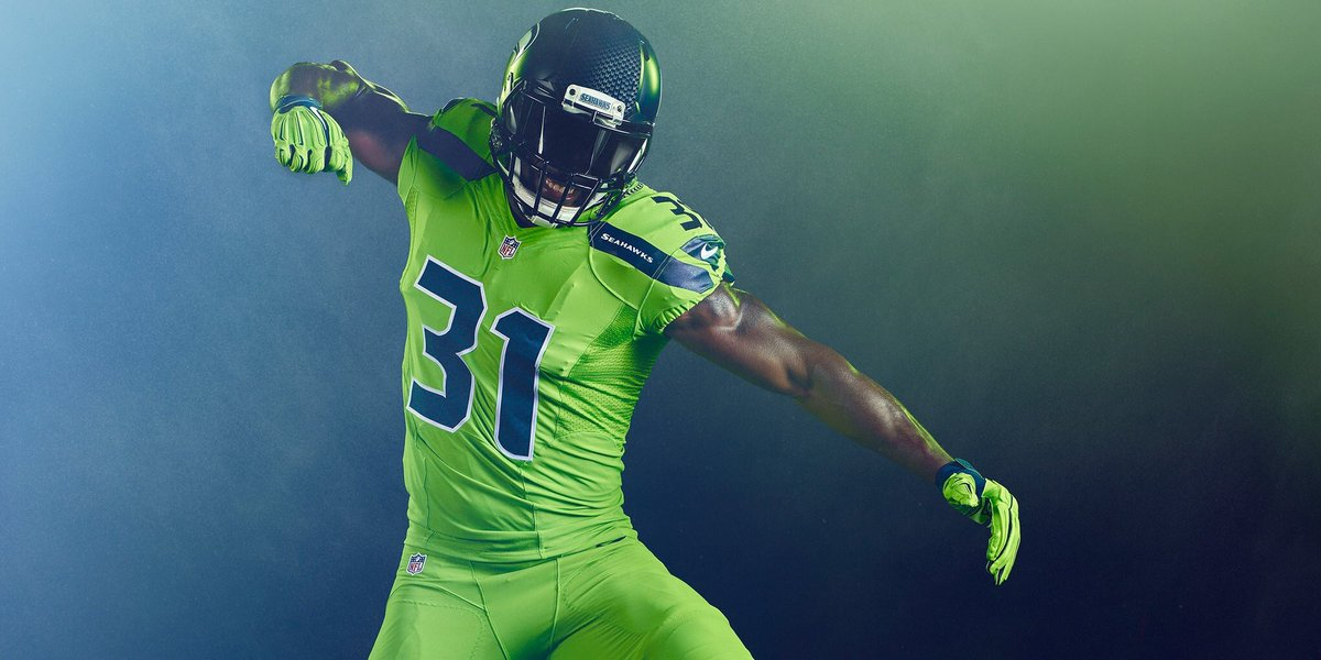 separation shoes bea25 4d498 seahawks color rush jersey