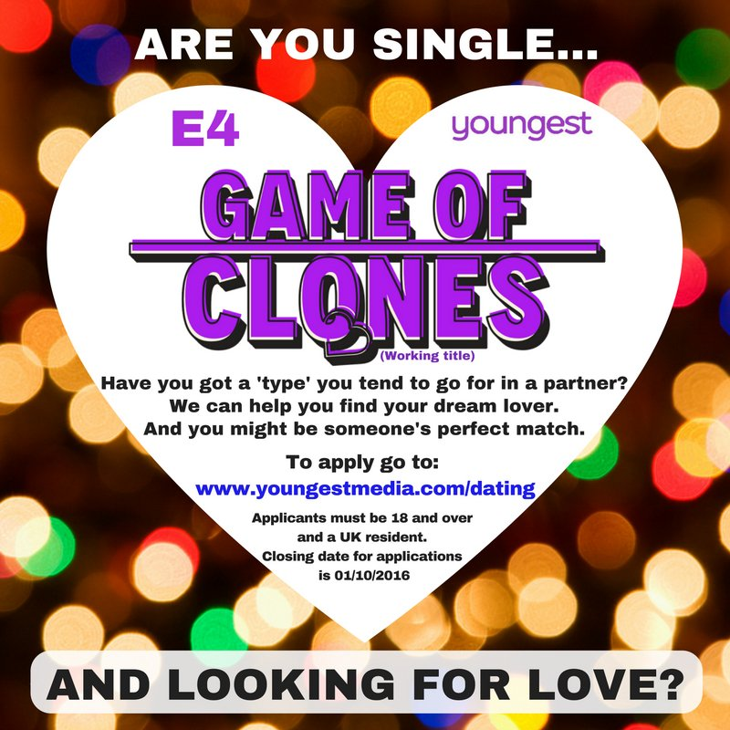 dating shows to apply for 2016