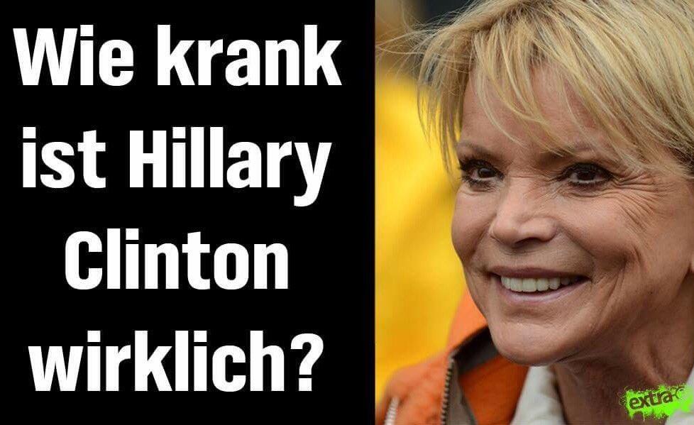 Ist #Trump wirklich nur einen Husten vom Atomkoffer entfernt? #Clinton #Hillary (Repost)