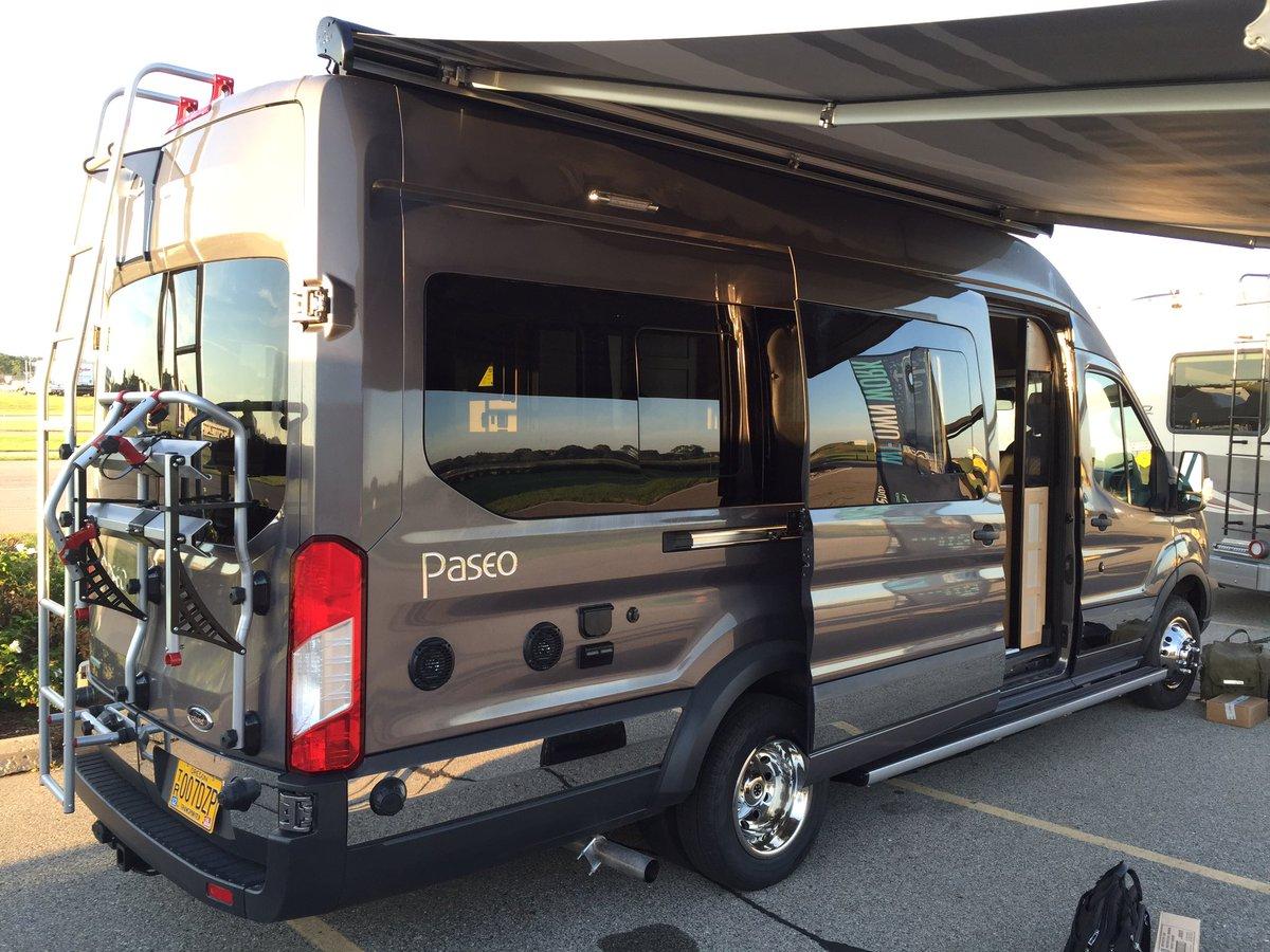 Mike Levine On Twitter Cool New Ford Transit Winnebago