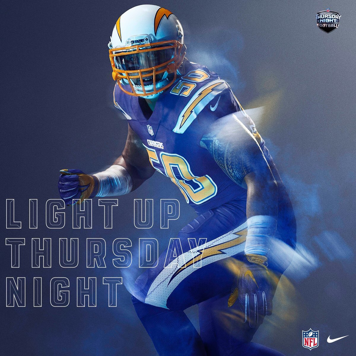 "San Diego Chargers Forums: Future Of NFL ""Color Rush"""