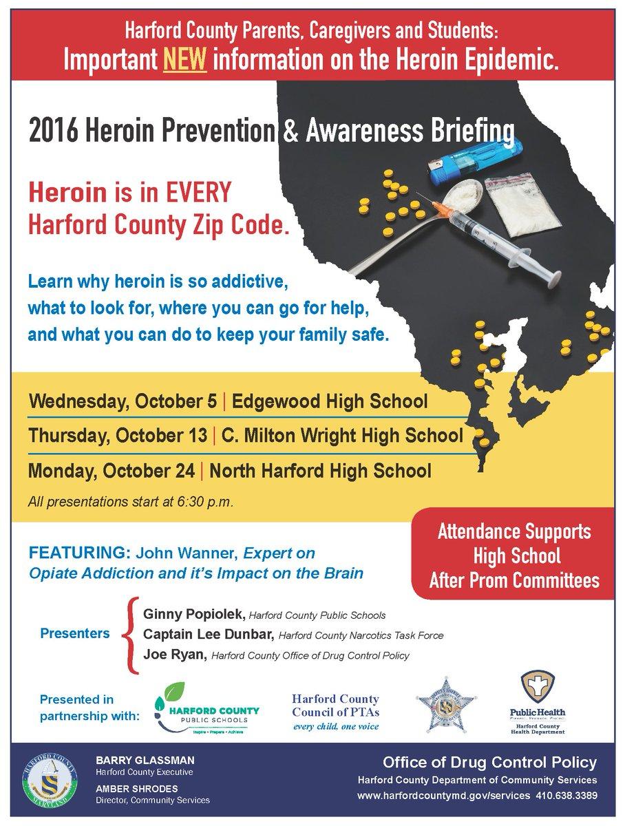 Hcps On Twitter Mark Your Calendar For The 2016 Heroin Prevention