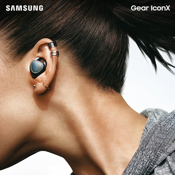 Take your fitness to the highest Gear with the new Samsung #GearIconX, cord-free earbuds. https://t.co/8GRq27NQQp https://t.co/Buq4Xo7ACE