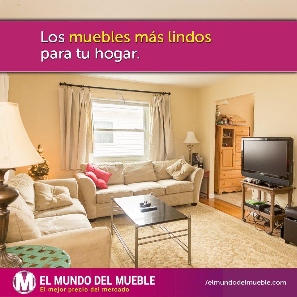 El Mundo Del Mueble On Twitter Casa Nueva Muebles Nuevos Tes  # Los Muebles Tes