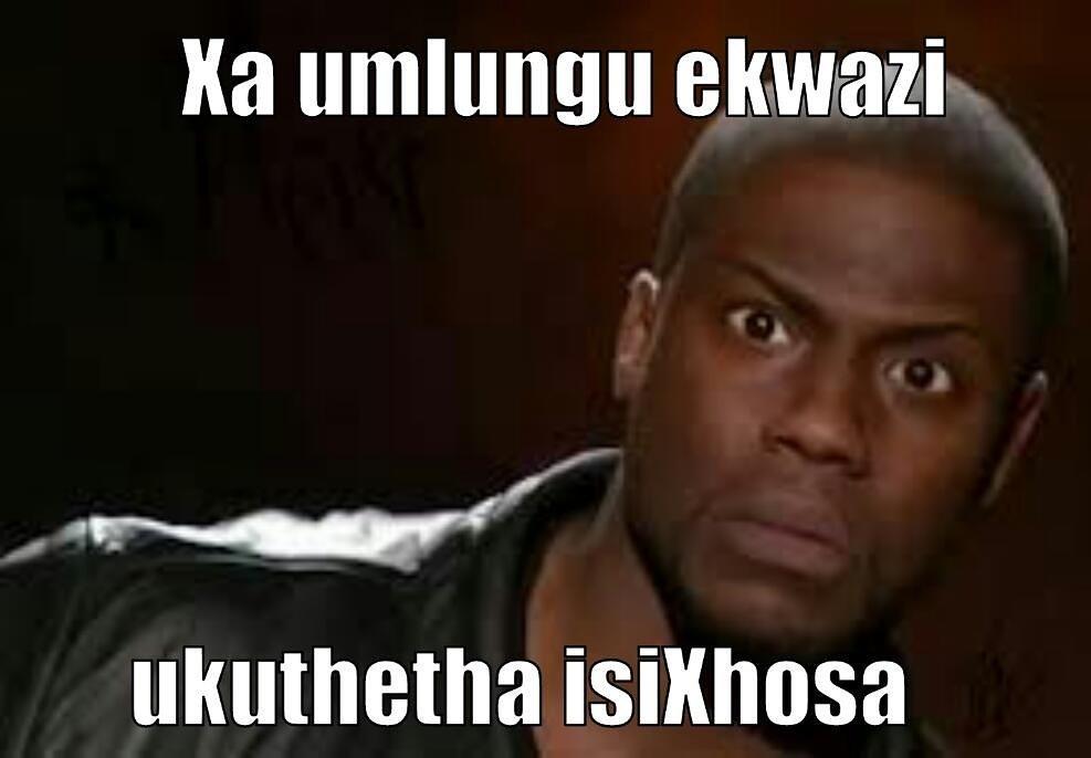 Xhosa Isixhosa Xhosamemes Southafrican Southafrica Meme Memes Funny Joke Jokes Humour Xhosajustkiddingpic Twitter Com Lqesnq