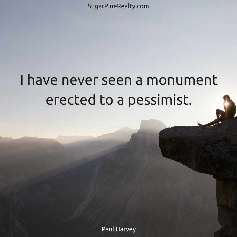 I have never seen a monument erected to a pessimist. #Quote #TuesdayMotivation https://t.co/BPpeN8fLAl