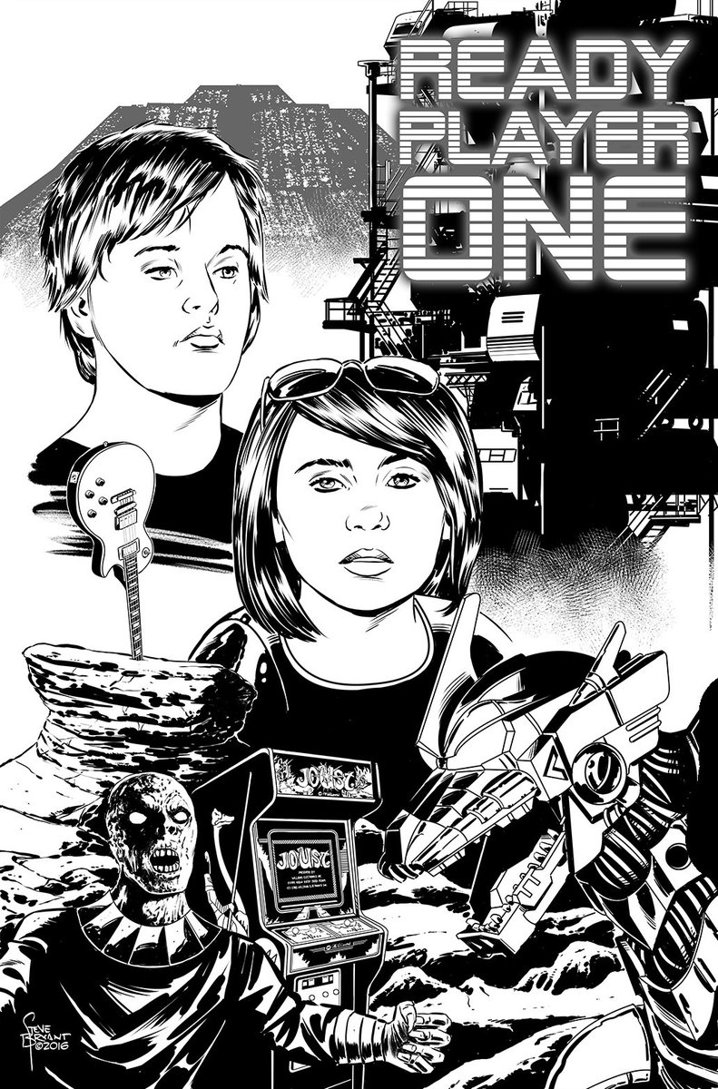 One of my dream gigs would be to adapt @erniecline's #ReadyPlayerOne for comics. https://t.co/z9GUCU6HUi