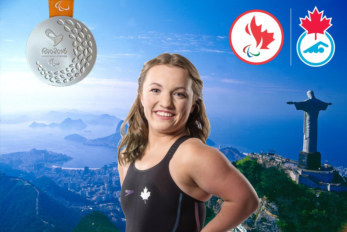 MEDAL ALERT @TessRoutliffe takes #rio2016 #silver in W SM7 200IM @CDNParalympics RECORD (3:02.05) by a second! https://t.co/K3rRA6WVNi