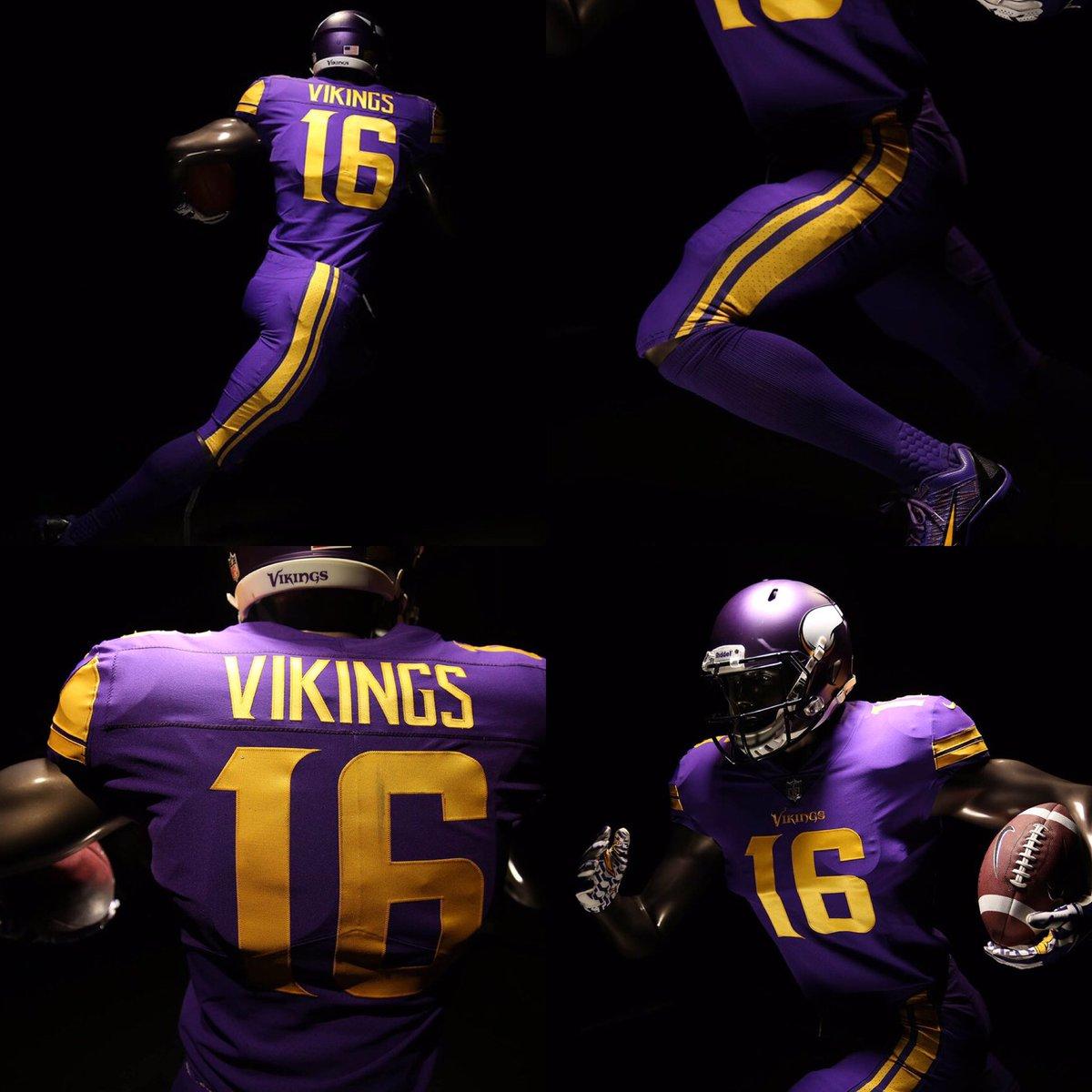 minnesota vikings color rush jersey