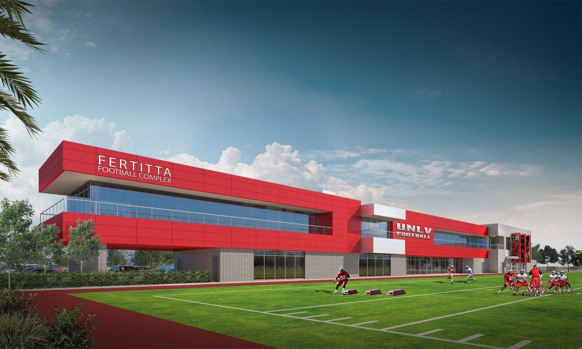 BREAKING: UNLV Athletics gets $10 million gift from Fertitta family for football training facility. #UNLV https://t.co/pb29lPvhyA