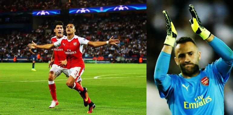 David Ospina le ayudó a sumar un punto de oro al Arsenal con atajadas en la #Champions ➜ https://t.co/DrRszh5nWH https://t.co/0X0hkwVRZJ