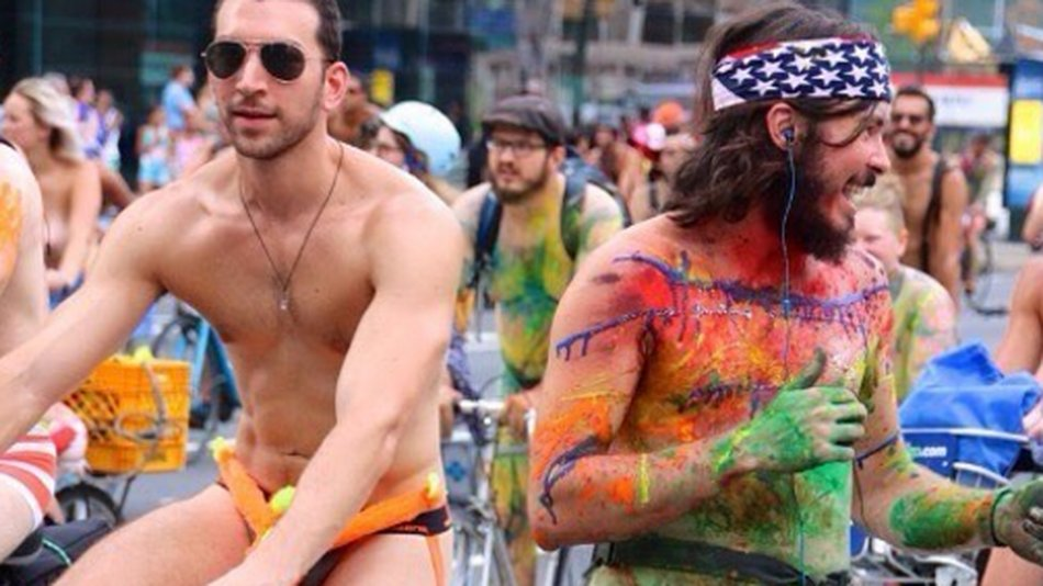 Have Philadelphia naked bike ride can recommend