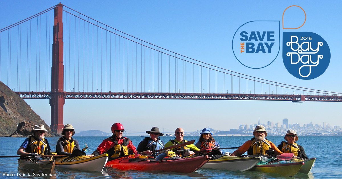 Love the water? On October 1, explore #SFBay by kayak, SUP, or boat! #sfbayday https://t.co/QrXTqRVKKQ https://t.co/l86svjqHkc
