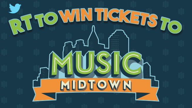 Your @NorthGAHonda is giving away @MusicMidtown tix right now! RT to enter to win! Picking a winner SOON! #sp https://t.co/jvyOzDoeyc
