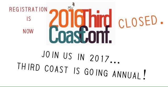 Big news! Great news! The Third Coast Conference is going annual. https://t.co/qkEU4OeC4G