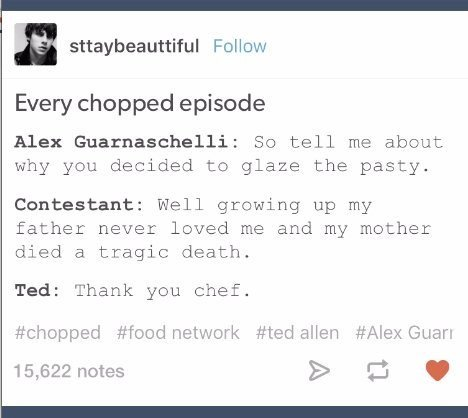 Funny Tumblr Posts About Food Network