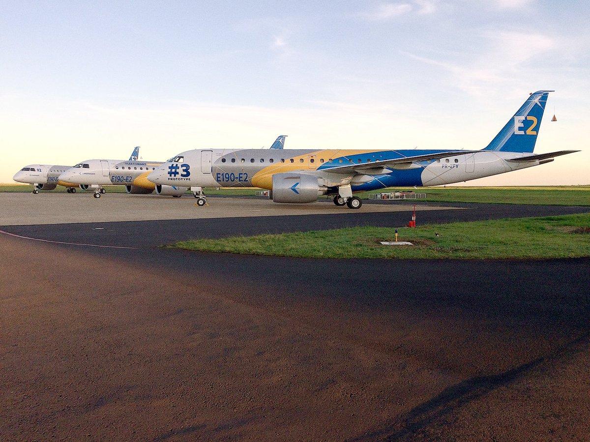 Resultado de imagen para embraer E2 fleets