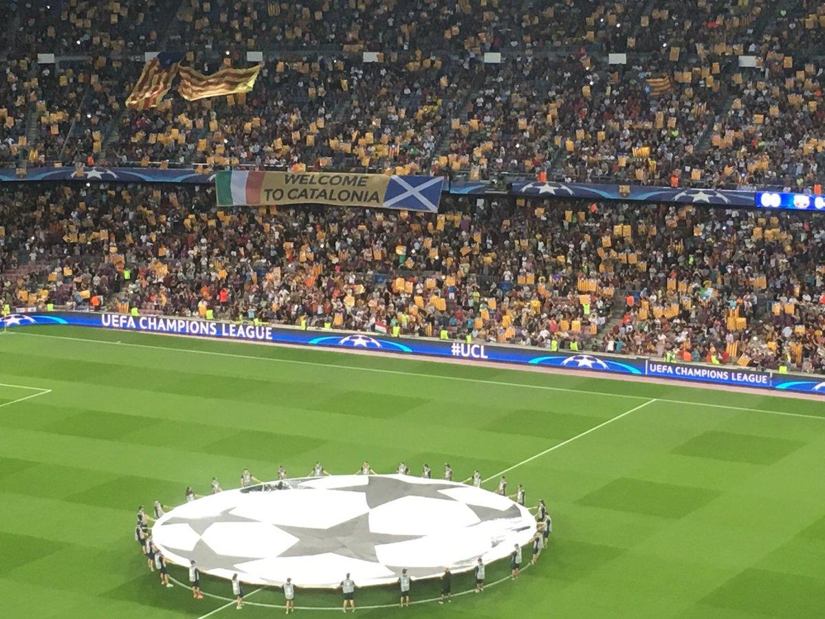 Amics de la @UEFA, Welcome to Catalonia. Prohibir mai no és la solució https://t.co/S7PEAOyszZ