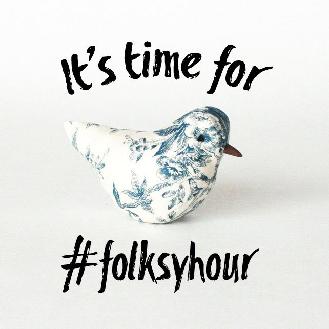 It's time for #folksyhour - follow the hashtag for discussion on #instagram stories for #handmade with peeps @folksy https://t.co/dgP157Yf9X