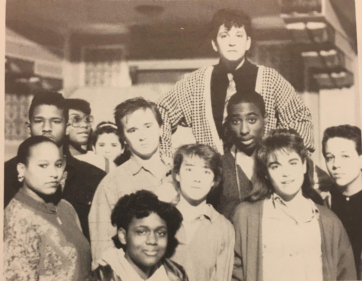 #TupacShakur, a sophomore in Baltimore in 1988. (Photo courtesy of @BaltSchoolArts) https://t.co/34hE8gEvbp https://t.co/Fs5I1u83hi