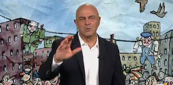 VIDEO Copertina diMartedì Crozza 13/09: Bersani Napolitano Referendum Roma e Di Maio