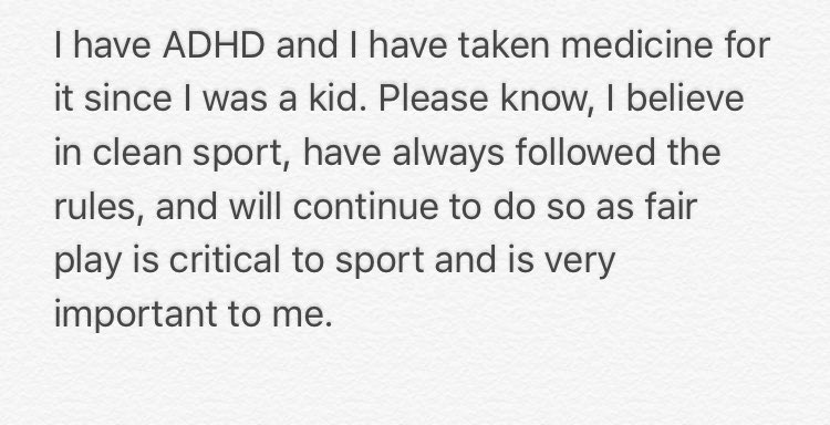 Simone Bile's response to the leaked medical information