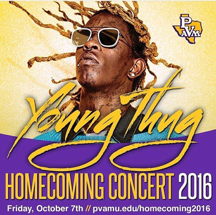 #PVHC2K16 presents Young Thug https://t.co/m0UgYd0rYc