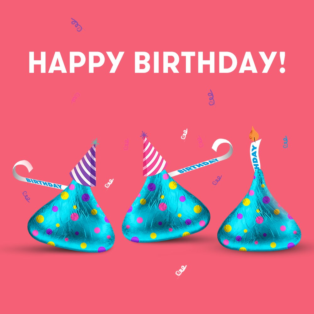 HERSHEYS On Twitter Were Glad You Asked KISSES Birthday Cake Flavor Candy Is A Walmart Exclusive Item 1 2