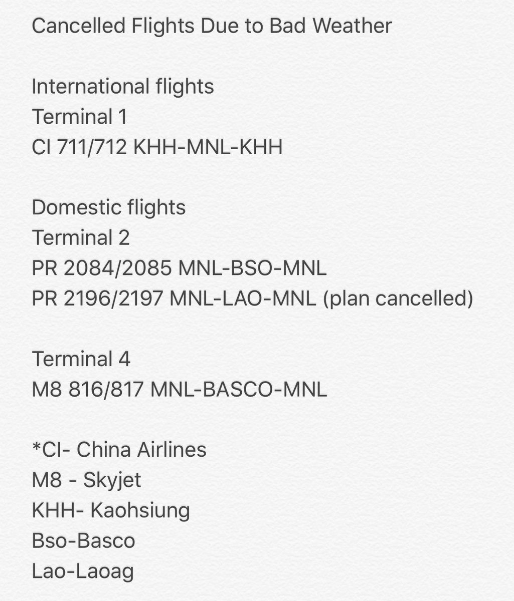 "Abs Cbn Latest News Update: ABS-CBN News On Twitter: ""UPDATE: PAL, China Airlines"