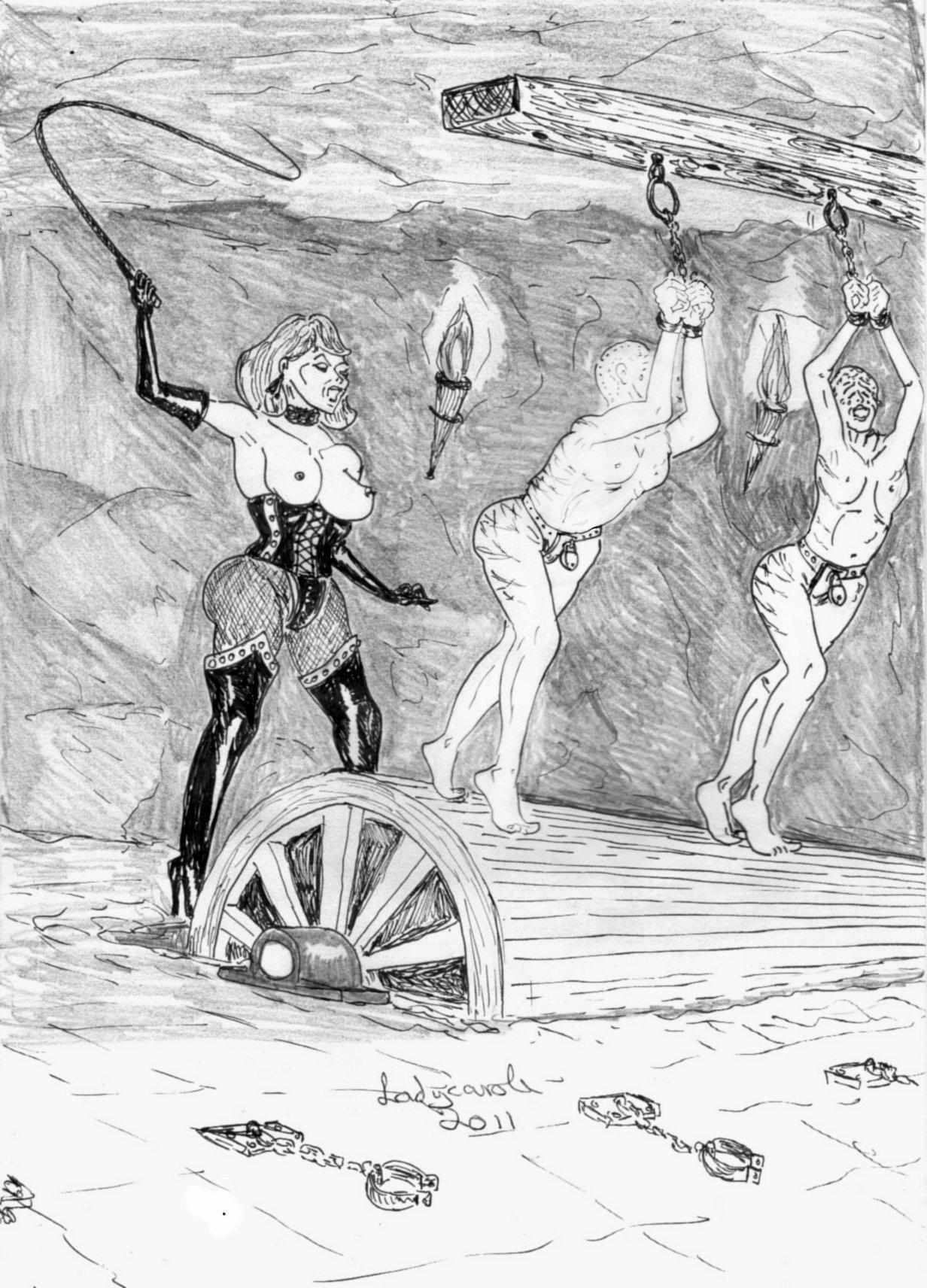 europe Lady art domination carol