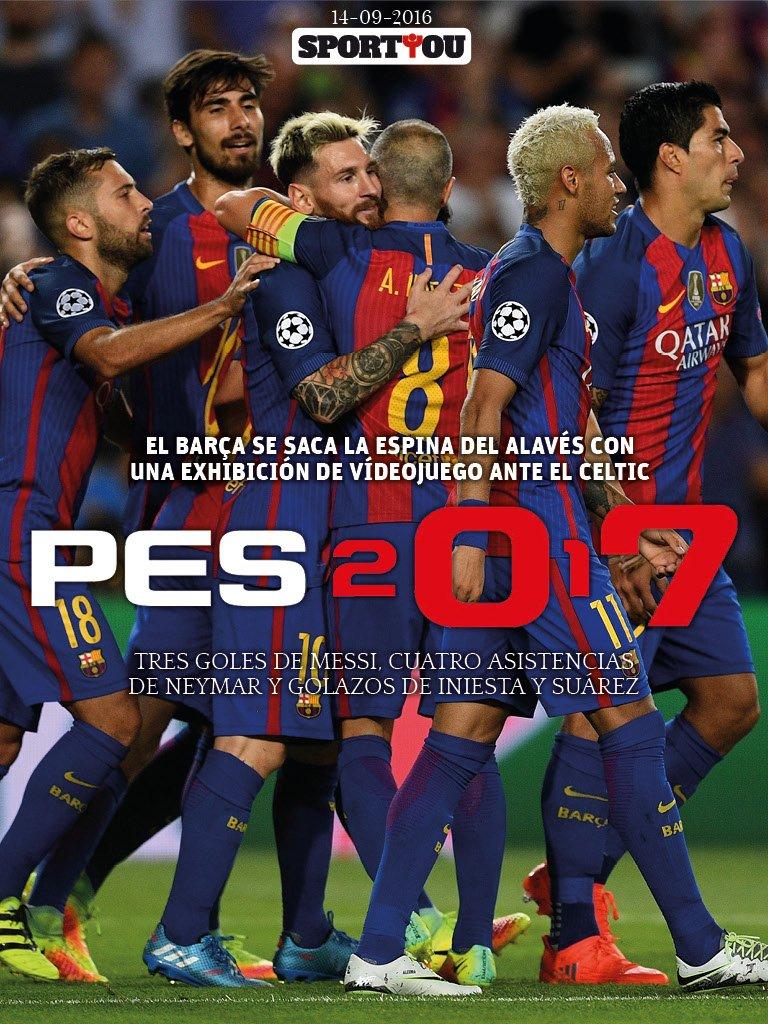 FC Barcelona v Celtic Glasgow. Champions League, jornada 1. - Página 2 CsRCAWGWcAAkw6m