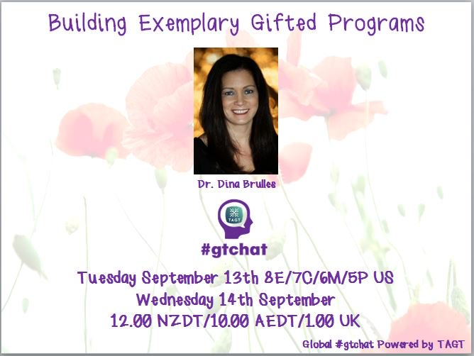 Thumbnail for #gtchat: Building an Exemplary Gifted Program