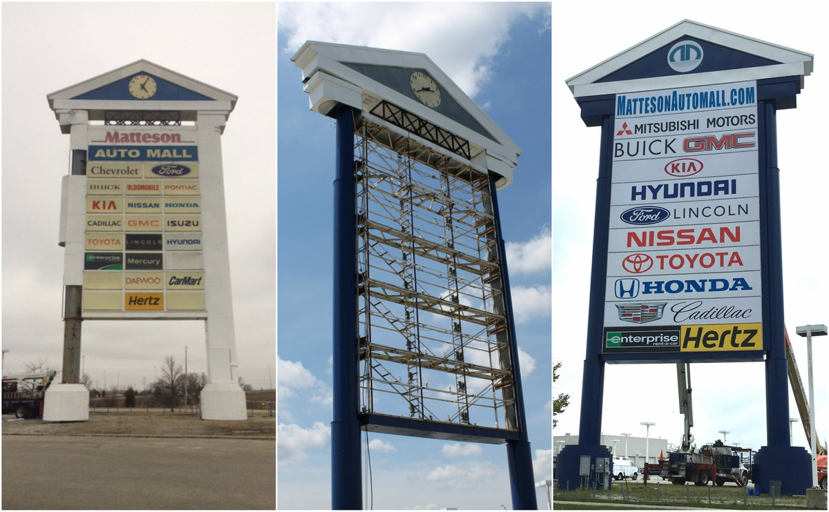 Matteson Auto Mall >> Village Of Matteson On Twitter Take A Look At The New And Improved