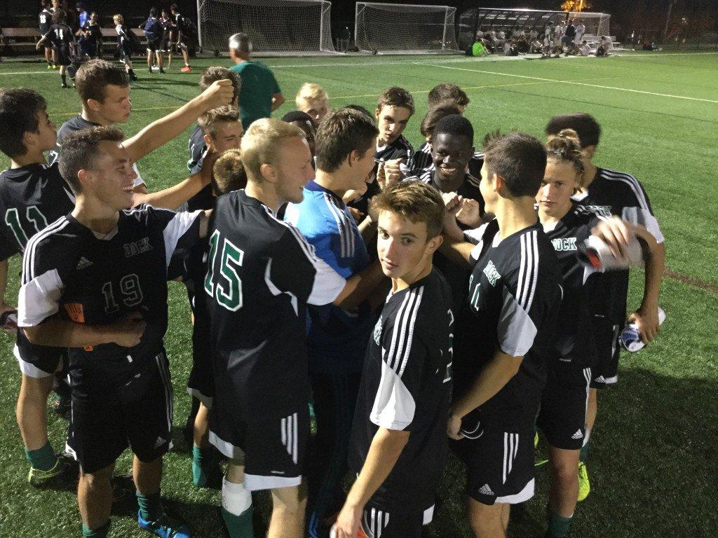 025ef4b83d8 New Story  Dock Mennonite Academy Boys Varsity Soccer beat Lower Moreland  High School 3-0 ...