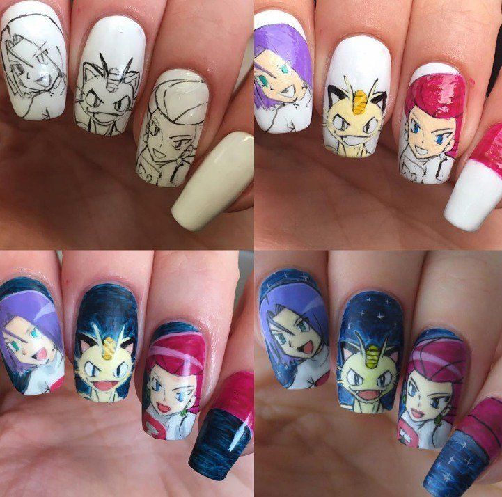 Ign On Twitter Check Out These 25 Adorable Pokemon Nail Art