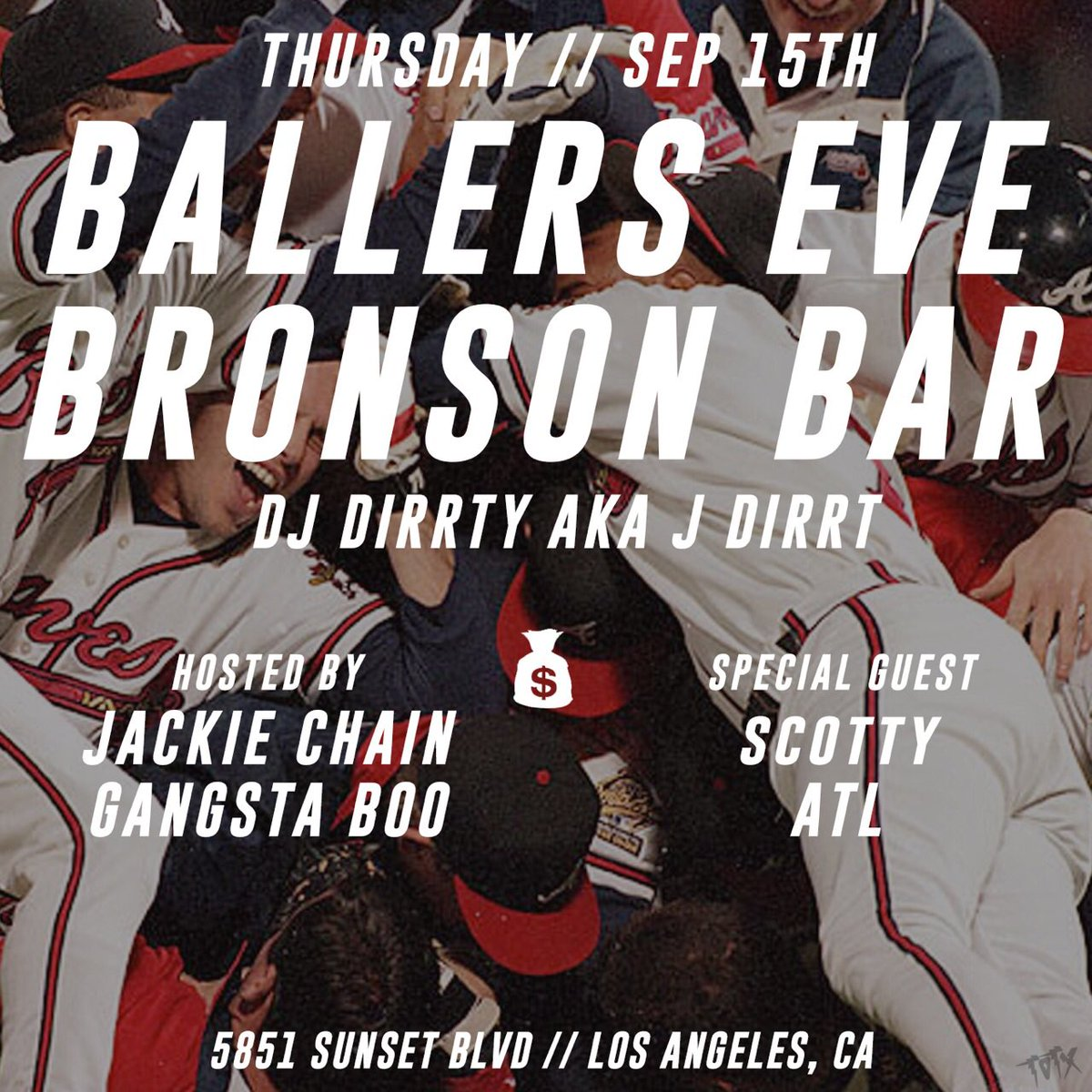 L A we turning up this Thursday!!! And we got special guest @ScottyATL in the building !!! https://t.co/RHUS9dOYO7