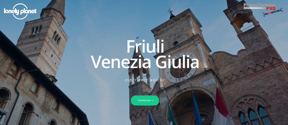 Fino al termine di #pordenonelegge, la guida Friuli Venezia Giulia è in DOWNLOAD GRATUITO! [https://t.co/VHy0rXM6l7] https://t.co/bOdQviJAjA