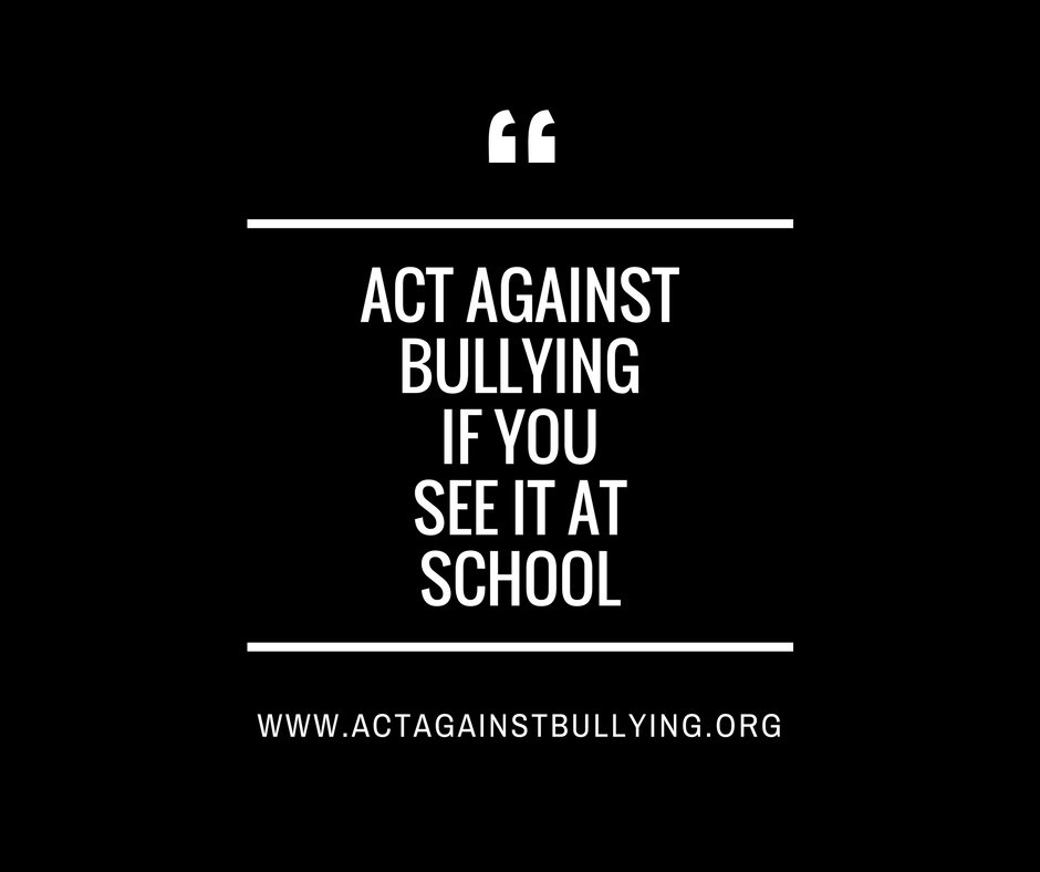 "anti bullying speech example Anti-bullying laws threaten free speech in america's a leading ""anti-bullying by labeling it as ""bullying"" or violence, either: for example."