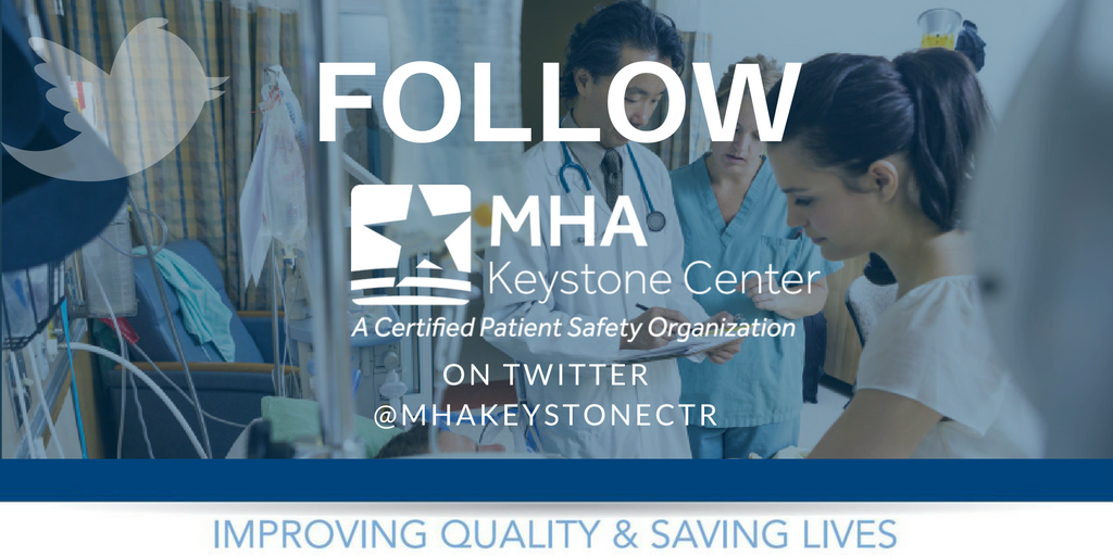 We will be live Tweeting from today's #MHAKeystone: ICU Workshop, join us using hashtag #MHAKeystone! #PatientSafety https://t.co/X59gozCJ7R