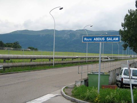 "As expected! ""@FarrukhKPitafi: Road named after Dr Abdul Salam in Switzerland. His own country doesn't celebrate him https://t.co/BpJ0fKZoRd"