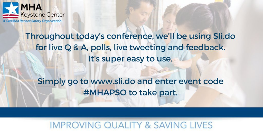 We will be using Sli.do during today's event to highlight live Tweeting & for Q&A's. Learn more below! #MHAKeystone https://t.co/a6XcfVjXCr