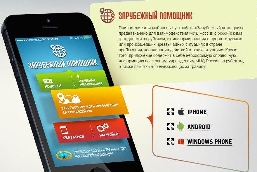 Новое приложение от МИД РФ. На отдыхе россиянам будет помогать «Зарубежный помощник»: https://t.co/FcWG6xGqBF https://t.co/2tk7WFavhv
