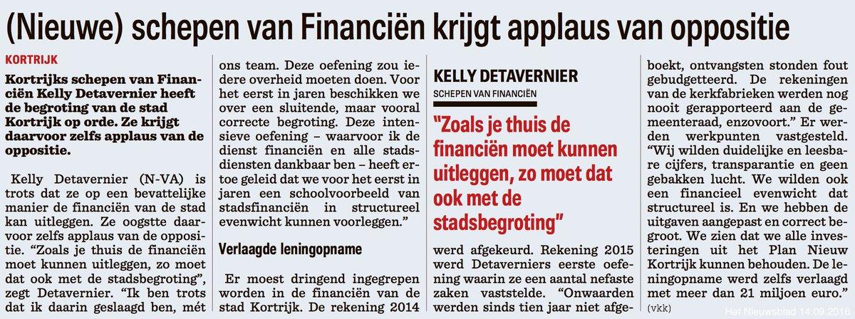 #Kortrijk heeft de begroting op orde. Applaus op alle banken! @KDetavernier @VincentVQ https://t.co/dwQuTVW619
