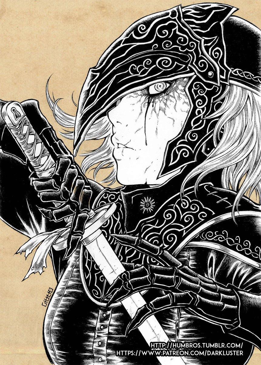 Shinbross Dark Luster On Twitter Yuria Dark Souls 3