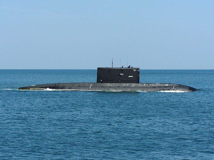 сколько подводных лодок в севастополе