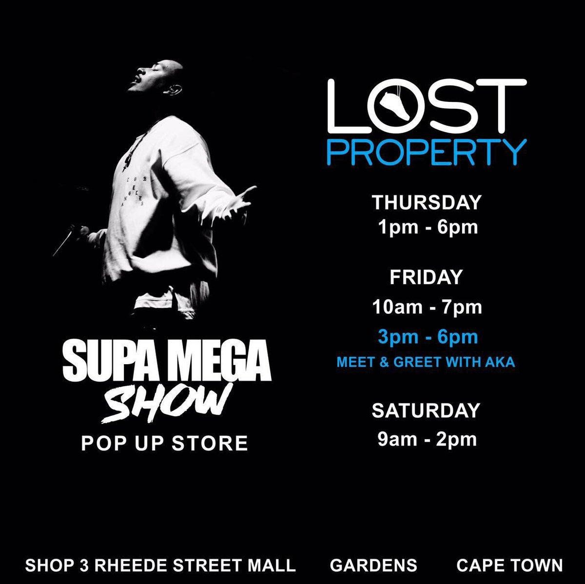 The OFFICIAL store times for the SUPA MEGA SHOW pop up store Ⓜ️ #MegaStayFreshSept17 https://t.co/sKw14Q3KEK