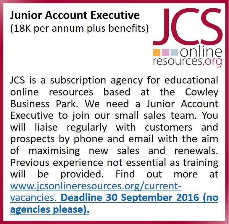 JCS Online Resources on Twitter: