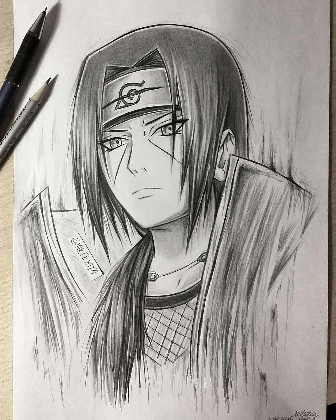 "Naruto Drawings: Arteyata On Twitter: ""#naruto #fairytail #tokyoghoul"
